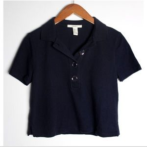 Forever 21 Short Sleeve Polo Shirt